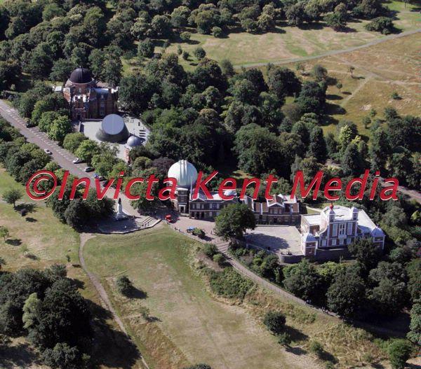 Aerial pic of Greenwich Observatory, London
