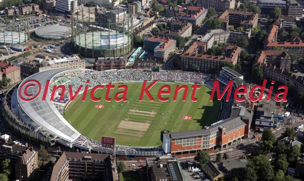 PIC SHOWS ;aerial view of The Oval cricket ground