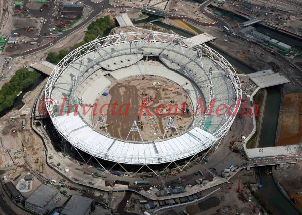 PIC SHOWS:- AERIAL PIC OF OLYMPIC STADIUM