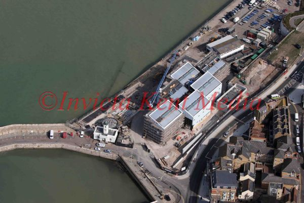 PICS SHOW;THE NEW TURNER MUSEUM IN MARGATE DURING CONSTRUCTION TODAY 22/9/10