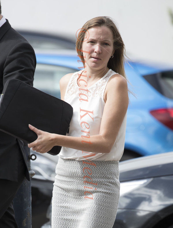 PIC SHOWS:Maidstone Crown Court Today Katy Anne Bethel appears today charged with the People Smuggling of 12 Vietnamese illegal immigrants.