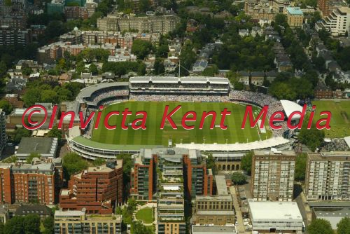 aerial view of Lords cricket ground