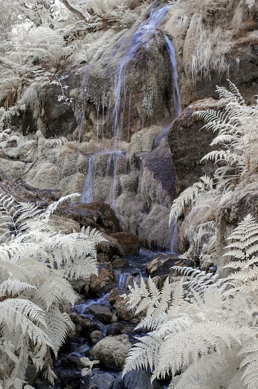Waterfall, Snowdonia, north Wales.
