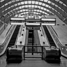 Michael J Duke The London Underground Escalators M5
