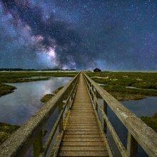 Michael Wort Walkway to the Milky Way L