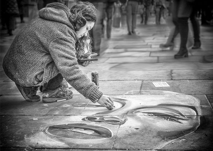 Pavement Artist print