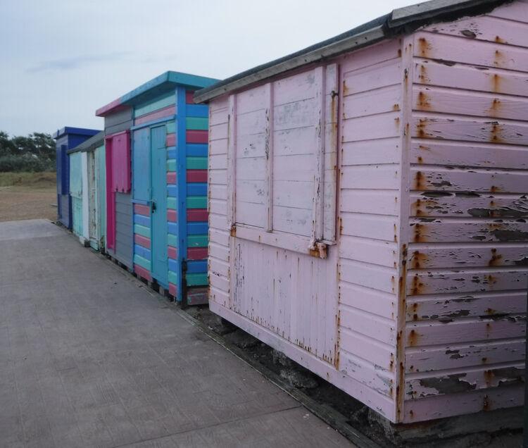 Sue Harlow beach hut 1 St.H