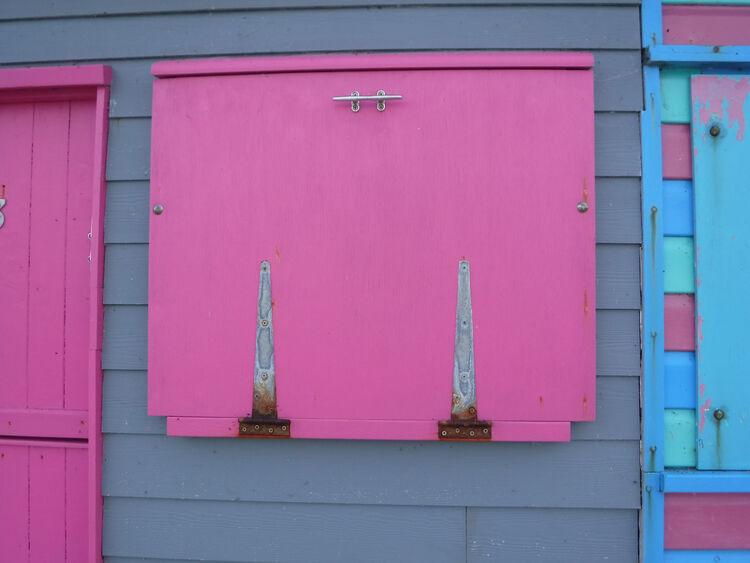 Sue Harlow beach hut 2 St.H