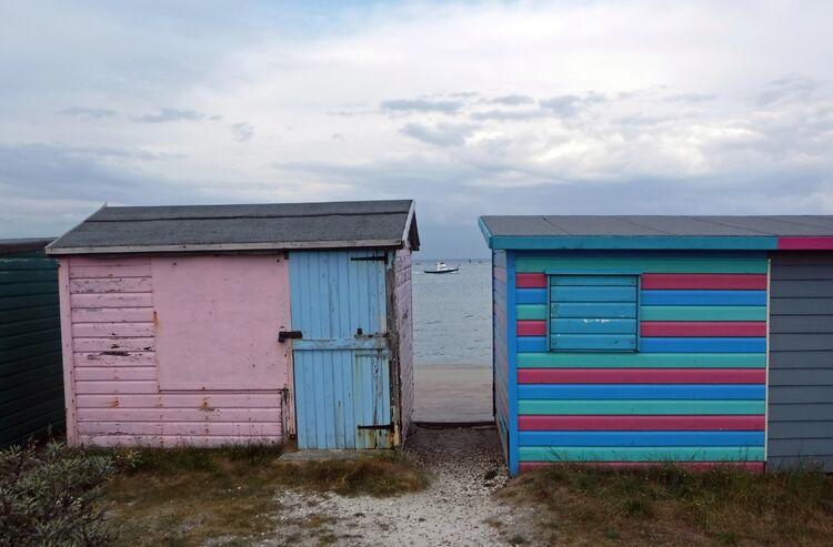 Sue Harlow beach hut 3 St.H