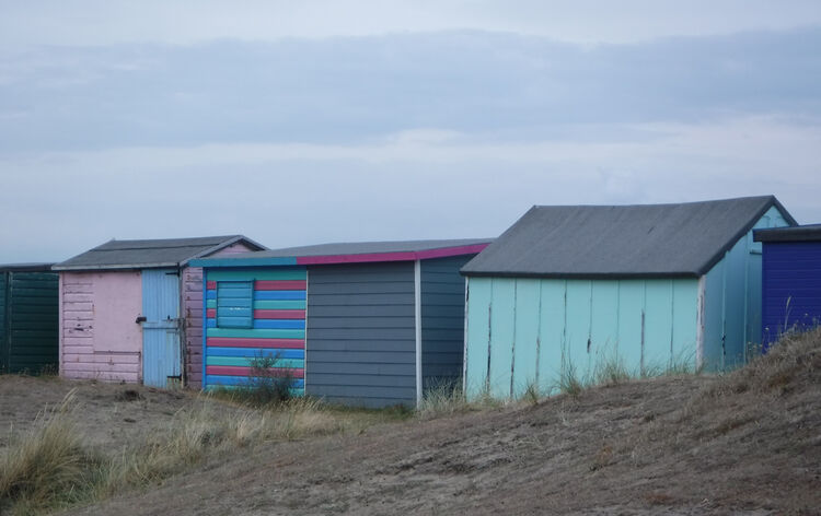 Sue Harlow beach hut 4 St.H
