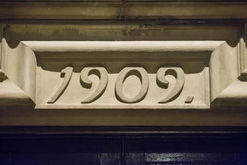 Numerals 1909