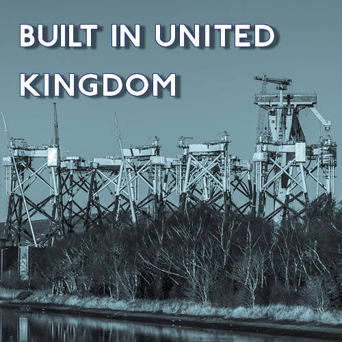 BUILT IN UNITED KINGDOM