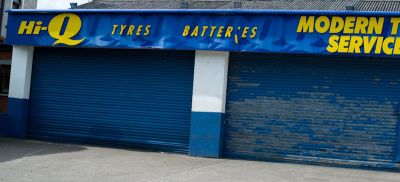 Landmark on Onslow Parade, Hi-Q tyre service close to  Ravenhill Rugby Grounds East Belfast.