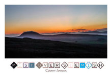 Mist Over Slemish Design