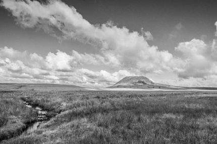 Slemish Mountain B&W