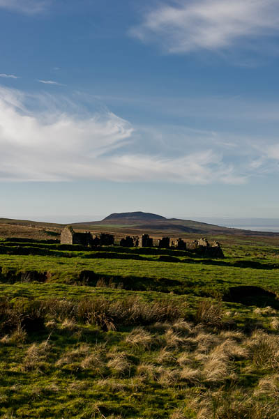 Slemish in Winter (Portrait)