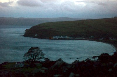 Stormy Night at Cushendun