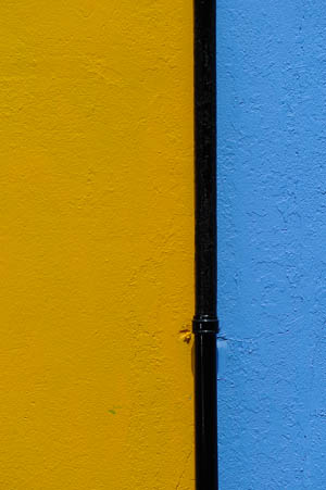 Yellow Black Blue