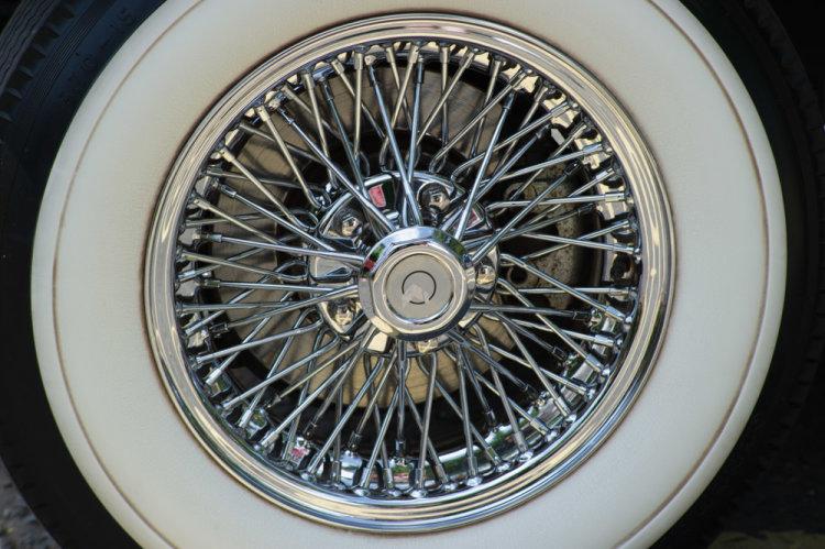 Summer Wedding Whitewall Tyre