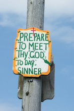 Pepare To Meet Thy God To Day Sinner