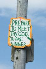 Pepare To Meet Thy God To Day Sinner