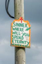 Sinner Where Will You Spend Eternity