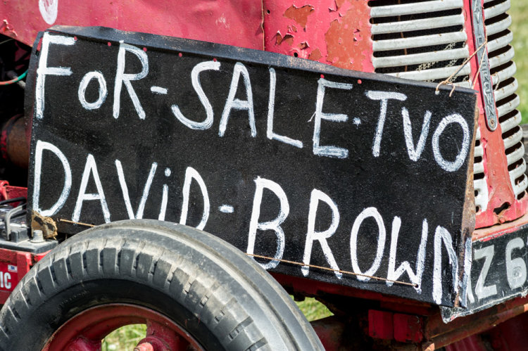 For Sale TVO David Brown
