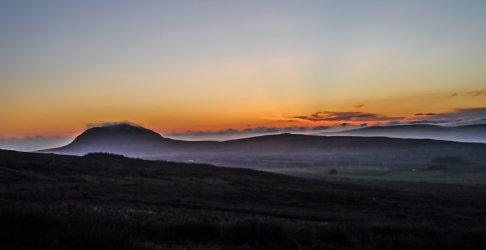 Mist over Slemish