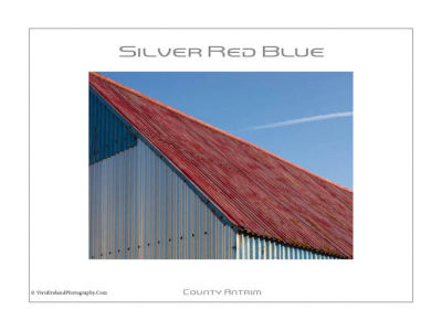 Silver Red Blue