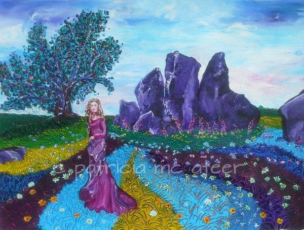 Cailleach, Clontigora Court Cairn and Fairy Tree