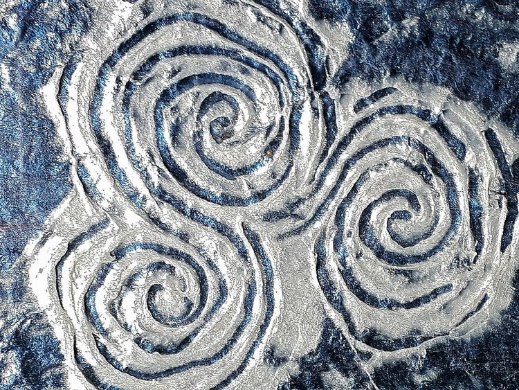 Triple spiral Silver