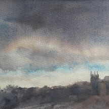 Evening clouds, Gipsy Hill - watercolour on paper £75