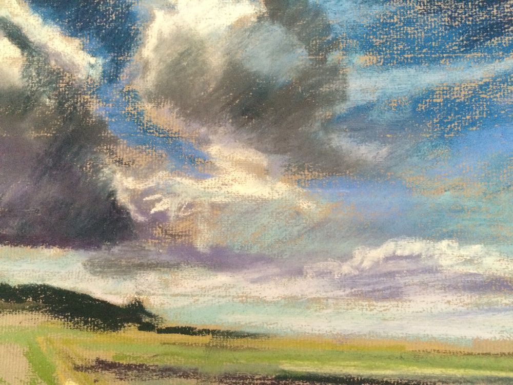 Clouds at Cley - £50