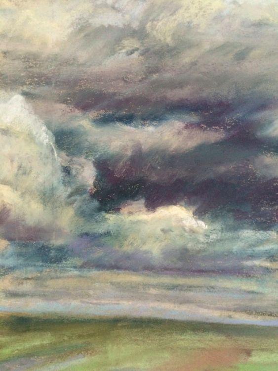 Cloudy skies over Walberswick - £75