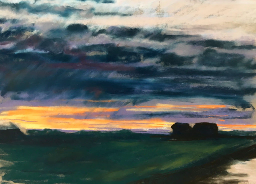 Sunset, Walberswick