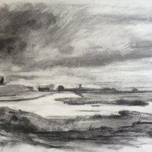 View towards Southwold from Walberswick - £100