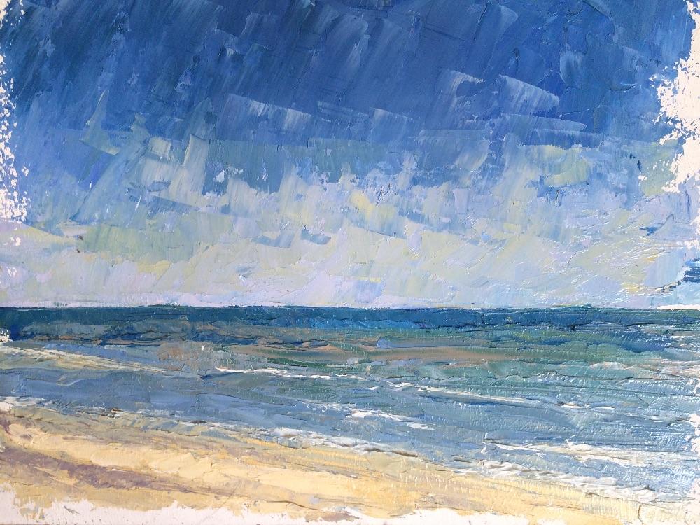 Walberswick beach - late afternoon - £150