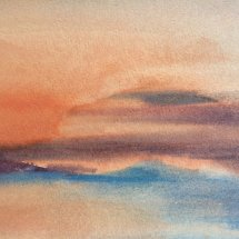 Sunset on the Blyth - £50