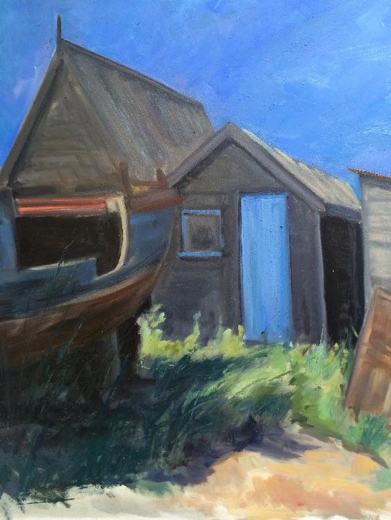 Fishermen's huts at Southwold - £200