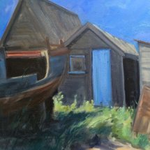 Fishermen's huts at Southwold - £200