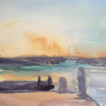 Sunset on the Blyth - £50