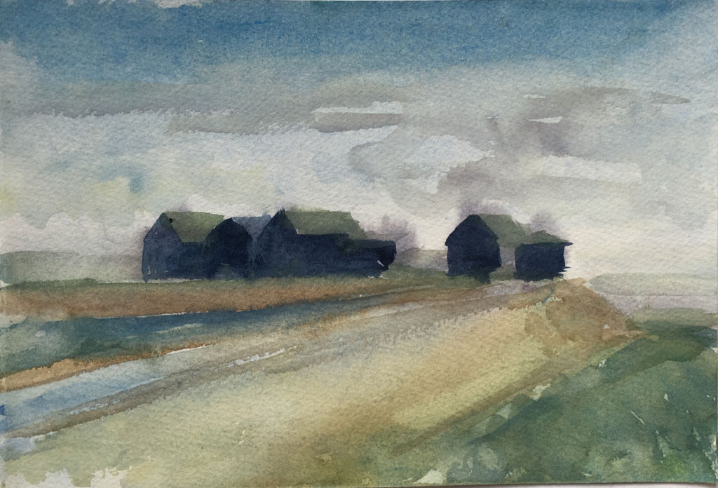 Beach huts by the River Blyth, Walberswick - £90