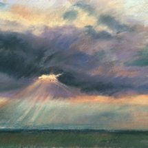Light rays over Walberswick - £130