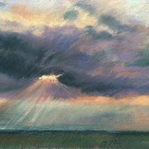 Light rays over Walberswick - £130