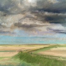 Over the marshes Cley - £75