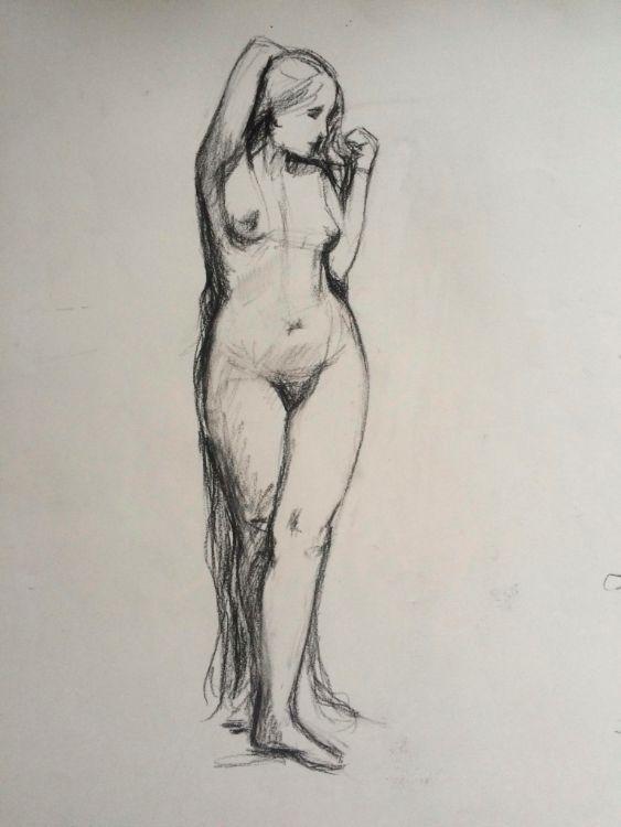 Rapunzel - standing nude - £140