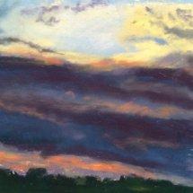 Sunset over Walberswick - £70