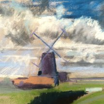 Windmill at Cley - SOLD