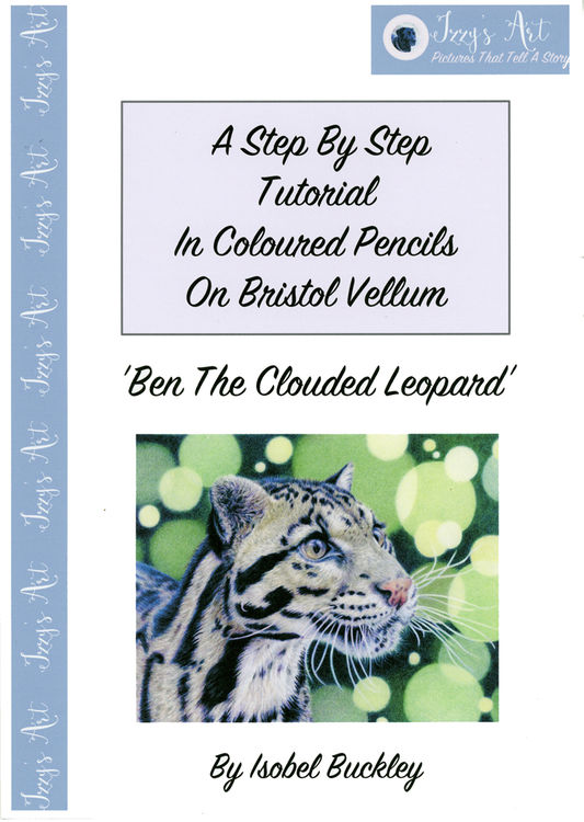 step by step tutorial on how to draw a clouded leopard by Isobel Buckley