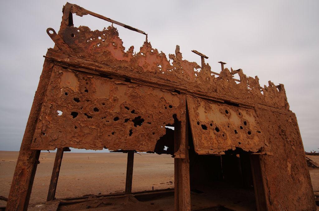 Oil Rig Rust